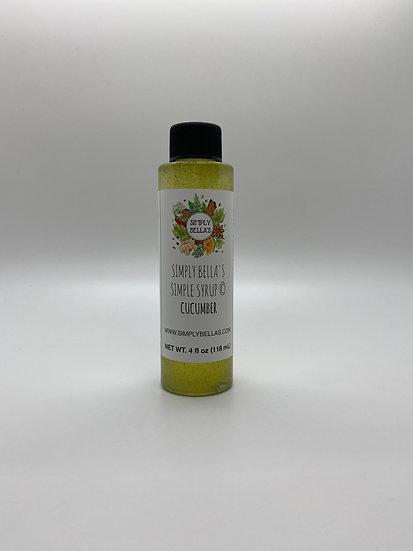 MINI Cucumber Simple Syrup