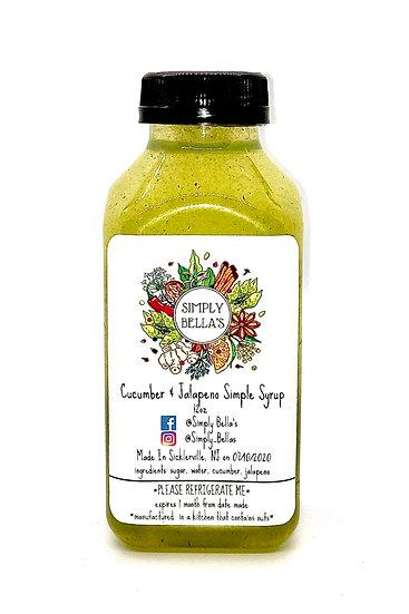 Cucumber & Jalapeño Simple Syrup