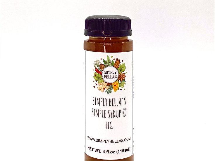 MINI Fig Simple Syrup