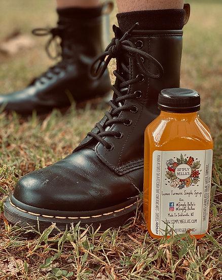 Lemon Turmeric Simple Syrup