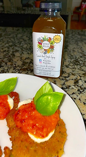 Tomato & Basil Simple Syrup