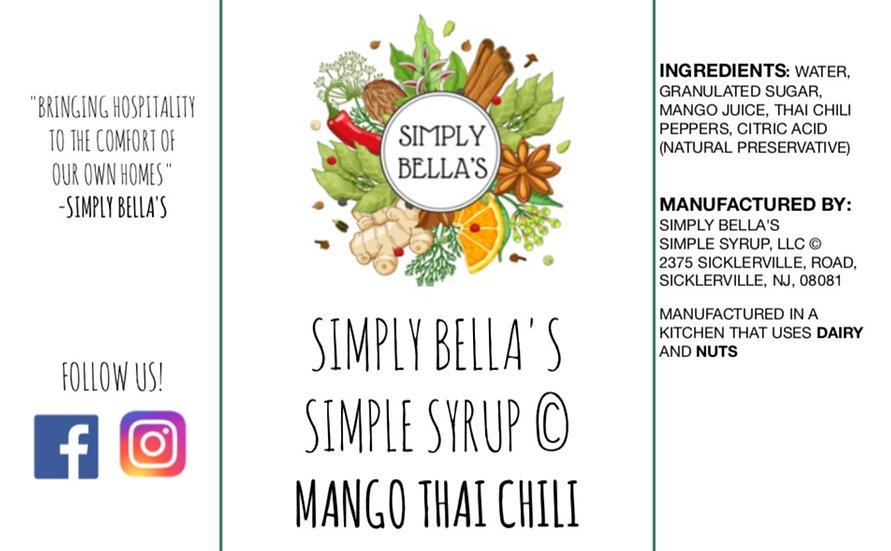 Mango Thai Chili Simple Syrup