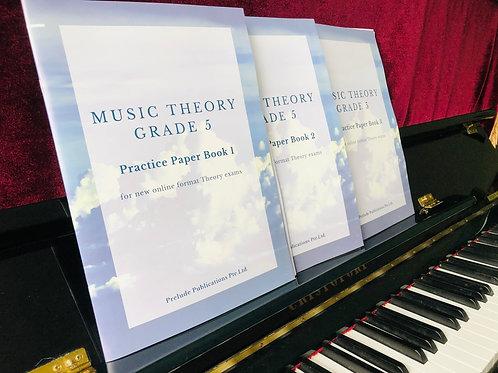 Music Theory Grade 5, Bundle of 3 Books