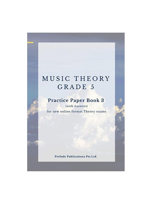 Music Theory Grade 5, Practice Paper 3