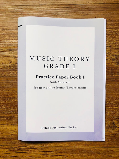 Music Theory Grade 1, Practice Paper 1