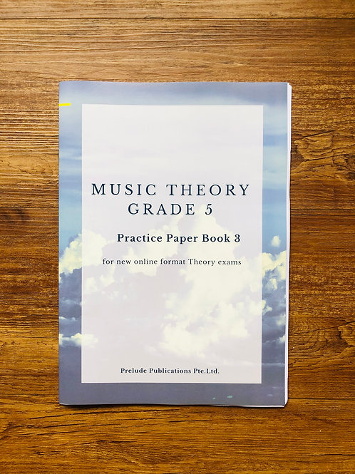 Music Theory Grade 5, Book 3