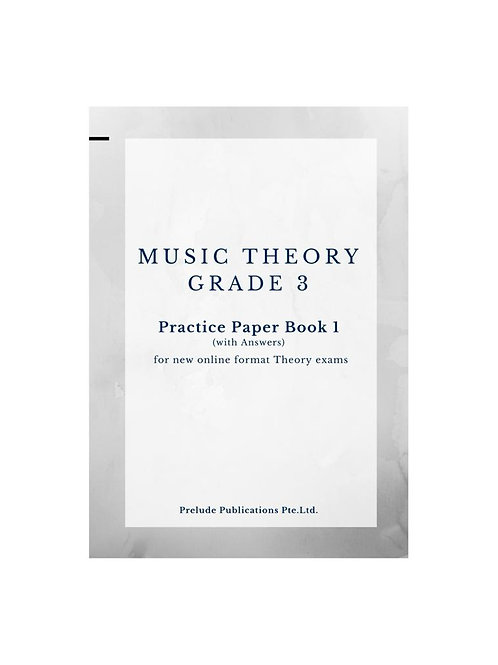 Music Theory Grade 3, Practice Paper 1