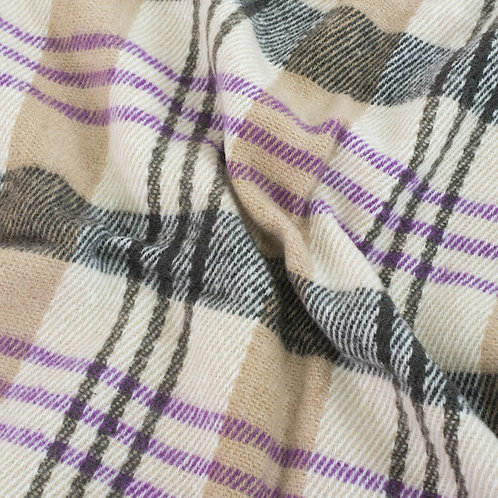 Одеяло п/ш (полушерсть) детское 420 гр/м2 полоса цвет сиреневый 100/140 см