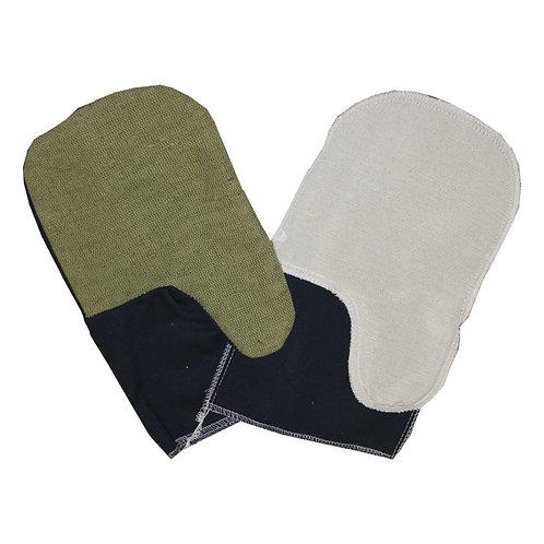 Рукавицы из саржи г/к или суровой с брезентовым наладонником