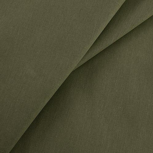 Бязь гладкокрашеная 100гр/м2 150см цвет хаки