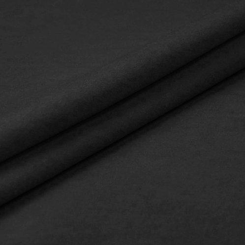 Фланель гладкокрашеная 150 см цвет черный 316