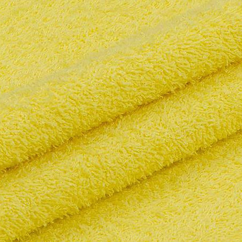 Махровая ткань 220 см 430гр/м2 цвет желтый