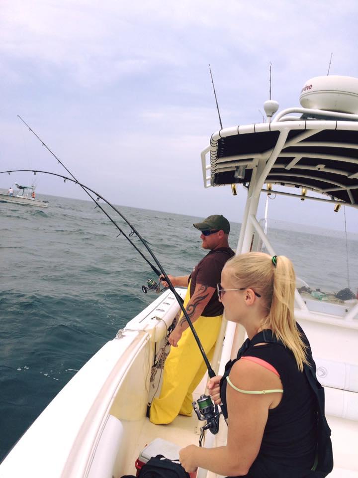 2016 Bass fishing Cape cod