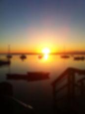 Pamet harbor, sunrise launch for Blue fin Tuna