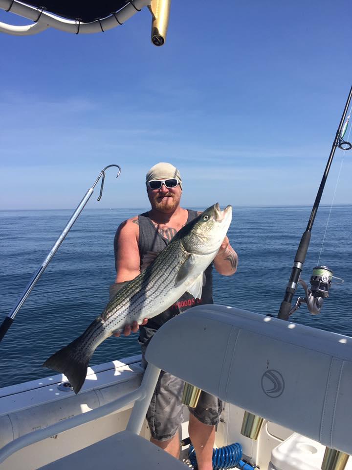 Bass fishing Cape cod