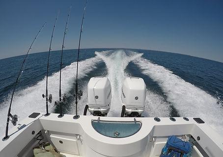 Onslow bay boats, 350 hp mercury, Bulefin Tuna topwater fishing