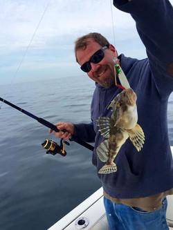 Sea robin Fishing Cape cod