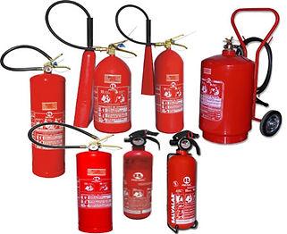 extintor de incendio em custodia