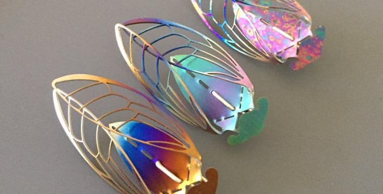 Titanium Cicada drops