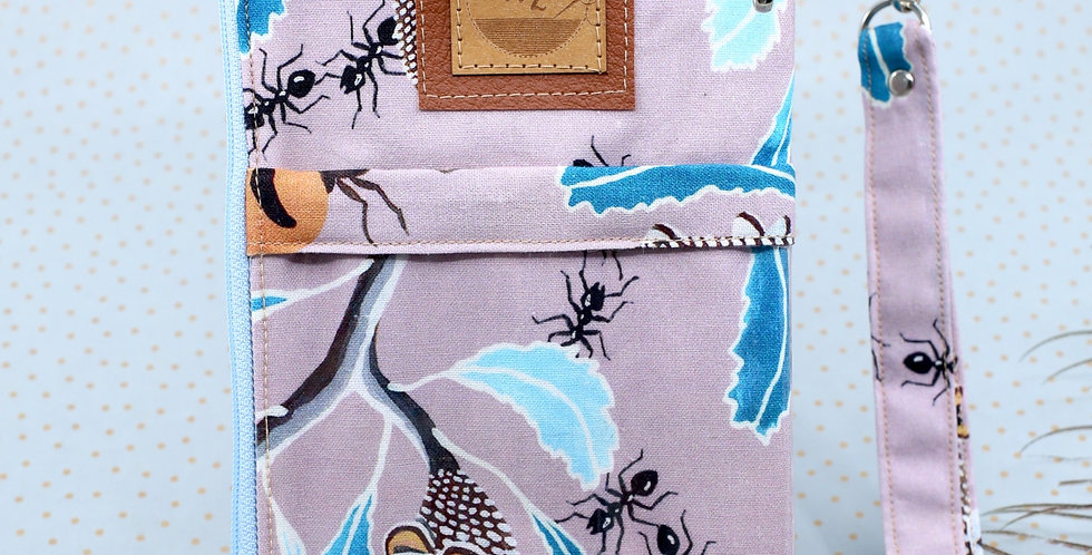 Honey Pot Ants  3-in-one phone clutch wallet