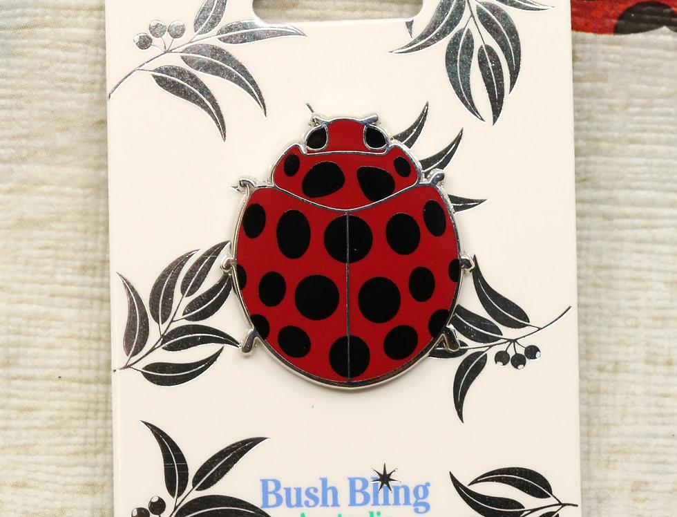 Australian Ladybird pin