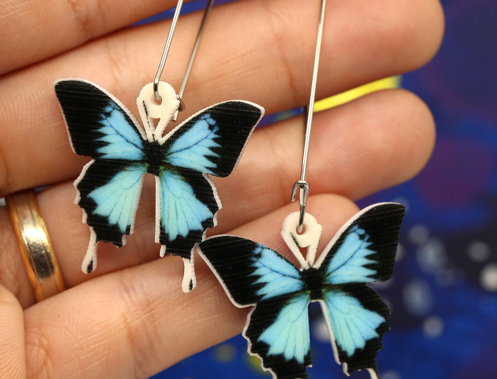 Ulysses Butterflies Acrylic Earrings