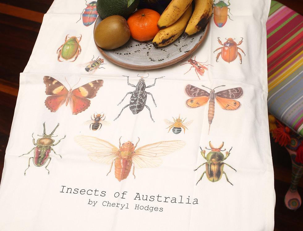 Tea towel - Insects of Australia