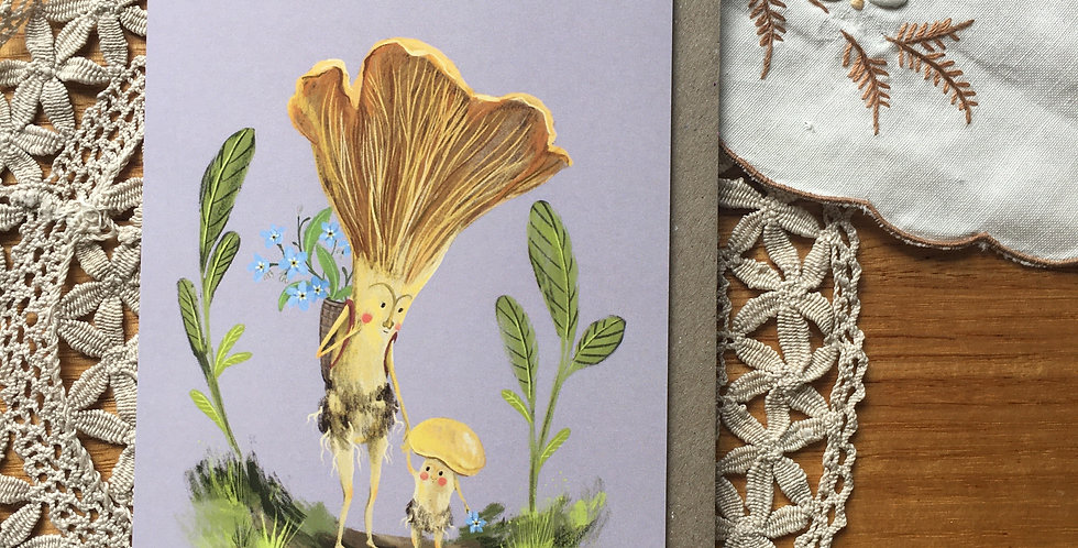Mushroom Mamma Greeting Card