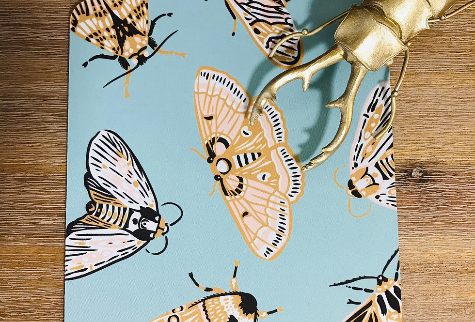 Moths Mouse Pad
