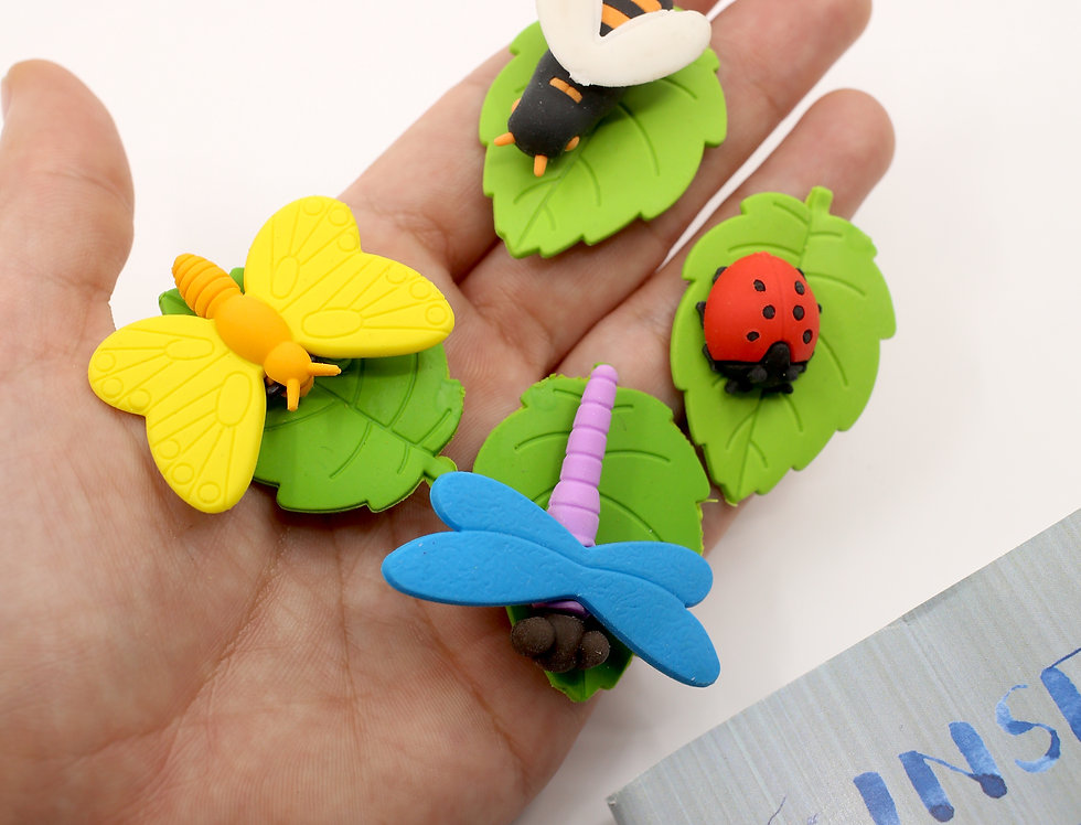 Insect erasers kit