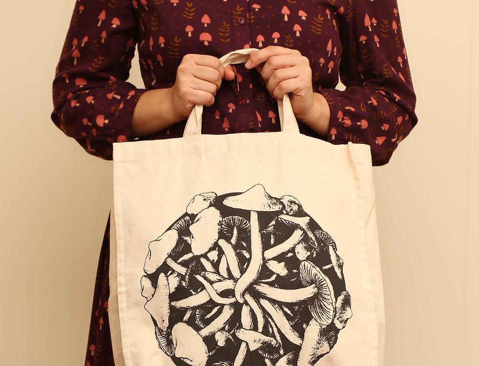 Mushroom Canvas Bag