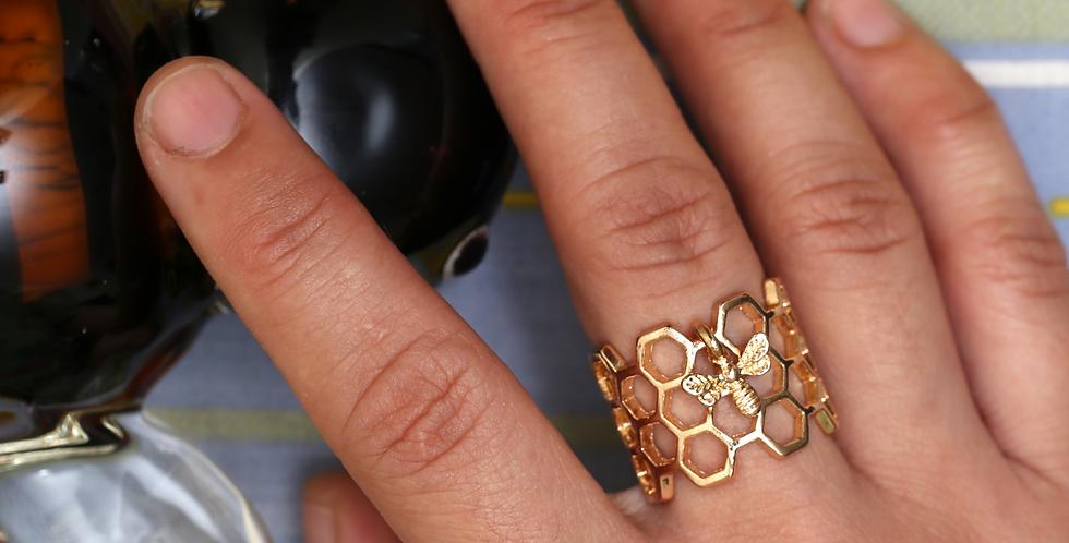 Beehive Ring - Adjustable