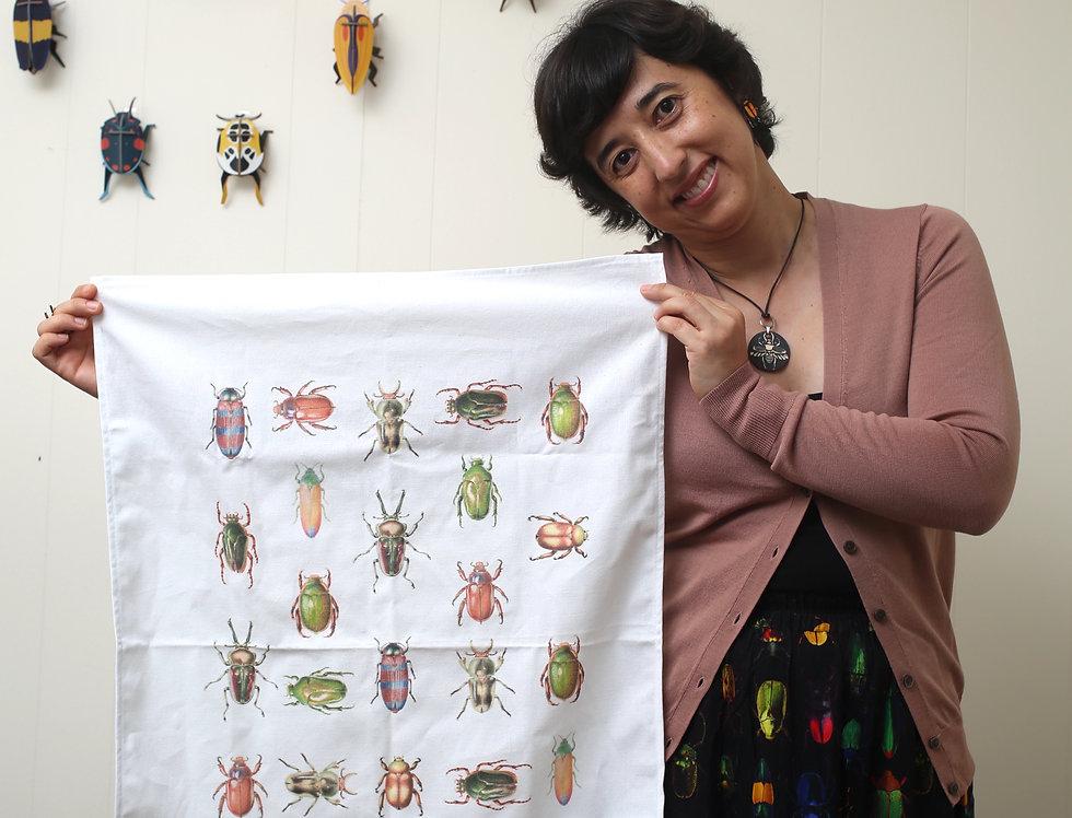 Tea towel - Beetles of Australia