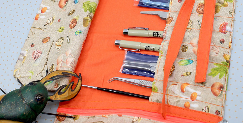 The indispensable entomological tool roll up -Fungi & Bugs