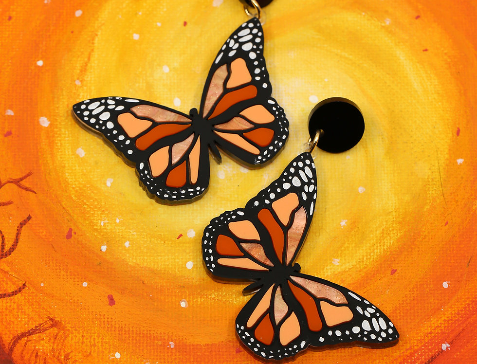 Monarch Butterflies Dangles