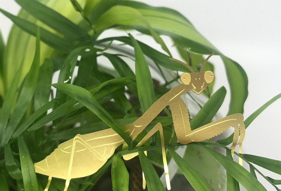 Praying Mantis decoration for plants