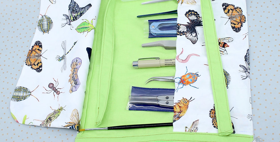The indispensable entomological tool roll up - Native Australian Insects