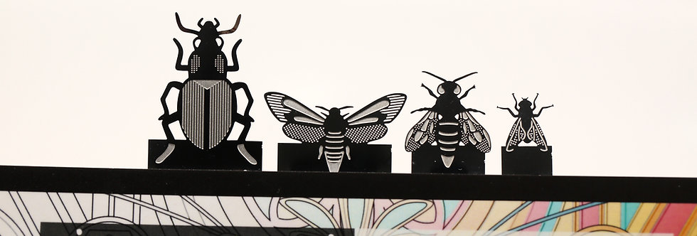 Stainless Steel Insect Bookmarks