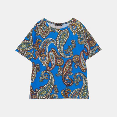 ZARA プリントTシャツ.jpg
