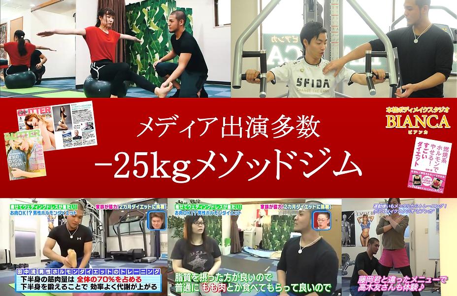 浦和のパーソナルトレーニングジムビアンカ。ボディメイクやダイエット専門店