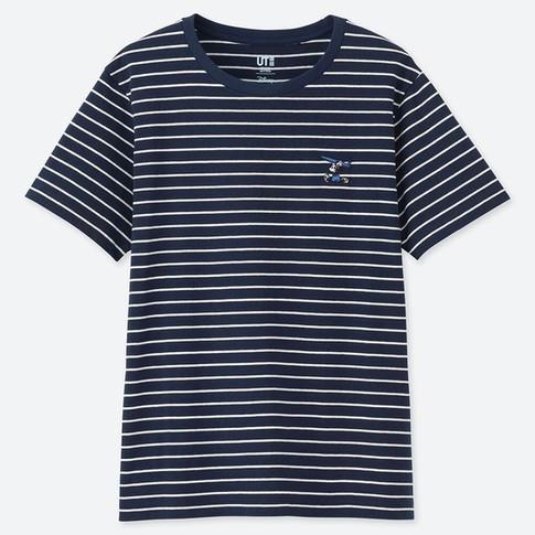 UQ ミッキー ブルー UT(グラフィックTシャツ・半袖).jpg