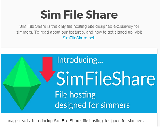 Sim File Shares Invite Codes