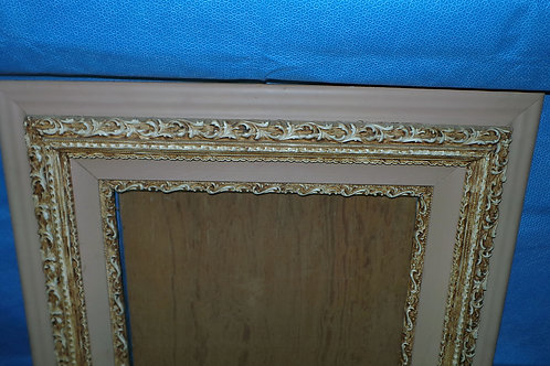 Wood And Plaster Picture Frame
