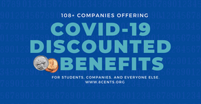 108+ Companies Offering COVID-19 Discounted Benefits.