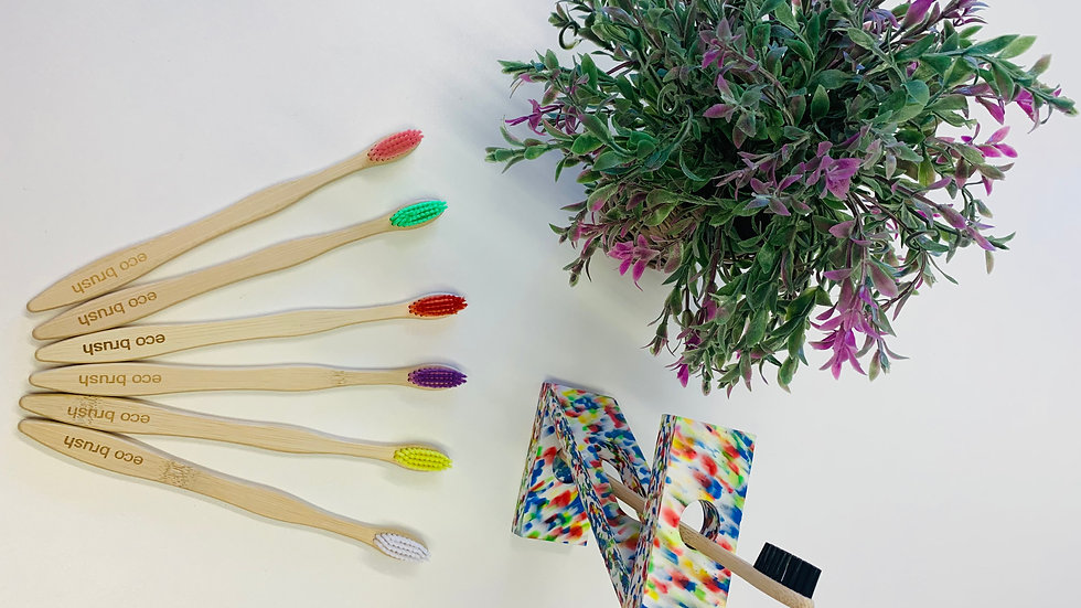 Eco-Friendly, Biodegradable, Bamboo Toothbrush