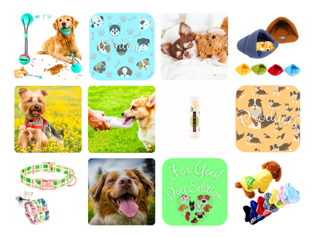 Online Products for You - Dog Edition 🐶!