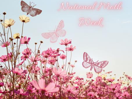 National Moth Week 🐛 🦋!