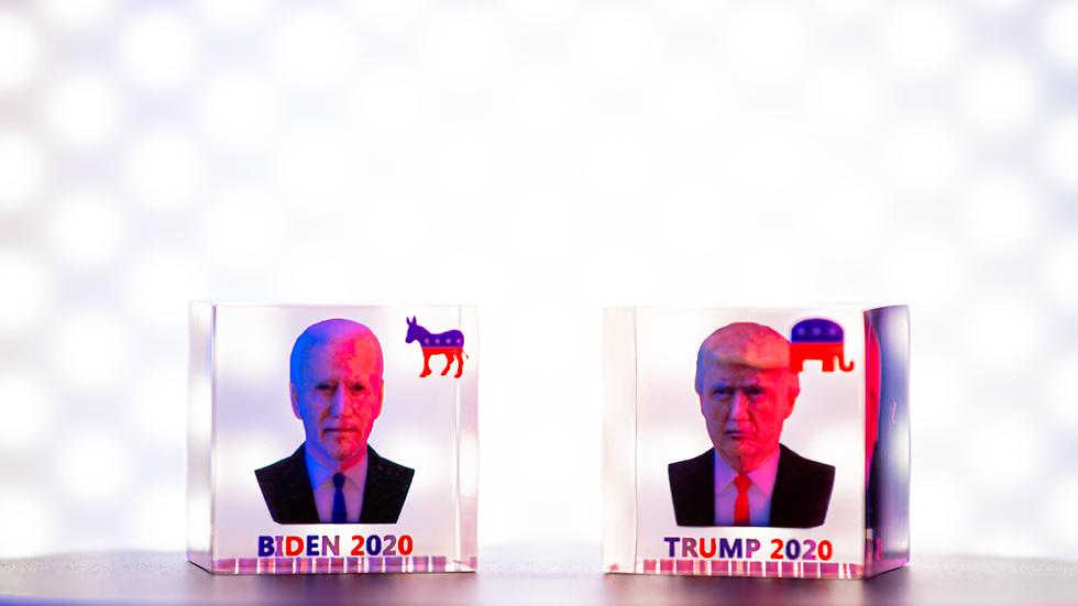 Donald Trump & Joe Biden Photo Cubes