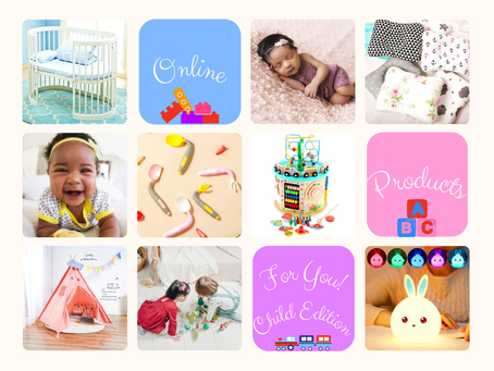 Online Products for You - Child Edition 👶!
