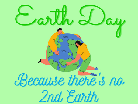 Earth Day is Every Day 🌍